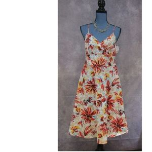 NEW NY & Co Colorful Floral Summer Dress Size 10